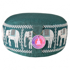 Elefanten Meditationskissen grün