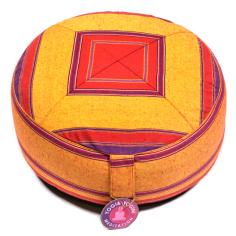 Multi Meditationskissen rot/orange