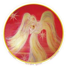 Aufkleber Engel der Hoffnung