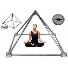 Yoga-Pyramiden-Set mit Anleitung