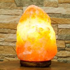 Salzkristall Lampe Ungeschliffen