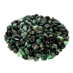 Smaragd mit Feldspaat Trommelsteine 6-12mm
