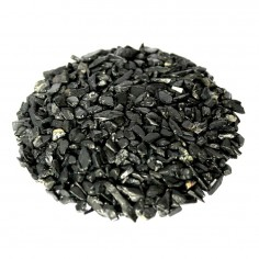 Schwarzer Turmalin Trommelsteine 2-3mm