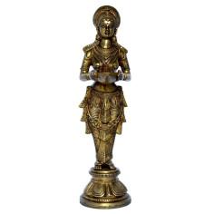 Lakshmi Statue 36cm Messing