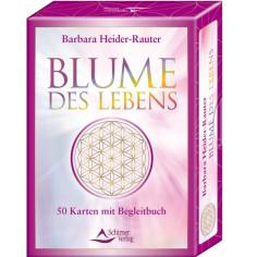 Kartenset Blume des Lebens - Barbara Heider Rauter