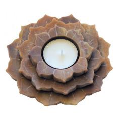 Teelicht Lotus Speckstein