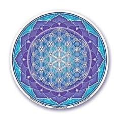 Lotus Aufkleber Blume des Lebens