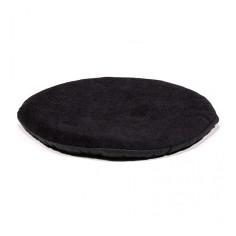 Kissen für Klangschale flach rund - schwarz 20 cm