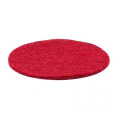 Filzuntersetzer für Klangschalen 20 cm - rot