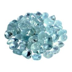 Topas blau Trommelsteine 8-15 mm