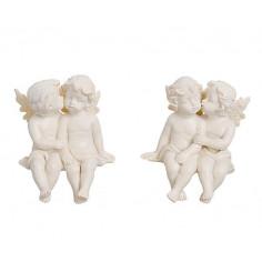 Engelpaar Kantenhocker