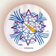Der Schamane - Mandala 10 cm