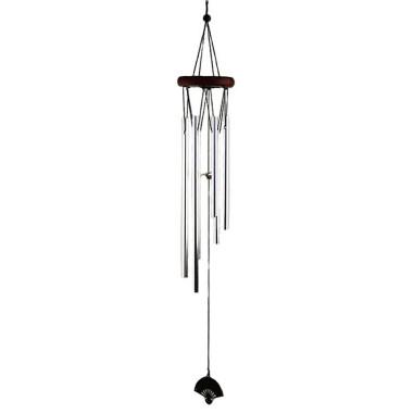 Feng Shui Klangspiel-Windspiel-Windspiel mit 22 Klangstäben und Naturholz