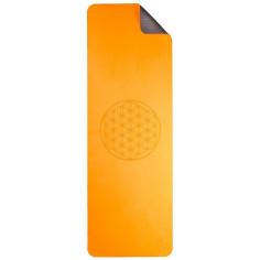 Yoga Matte Blume des Lebens - orange