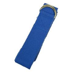 Yogagurt mit D-Ring Schnalle - blau