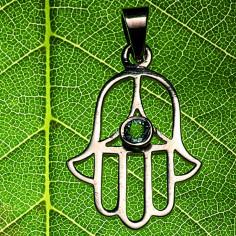 Healing Hand Anhänger Silber