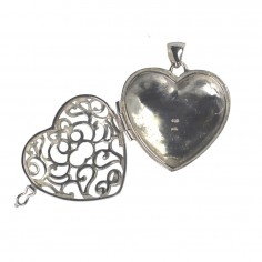 Anhänger Herz-Medaillon