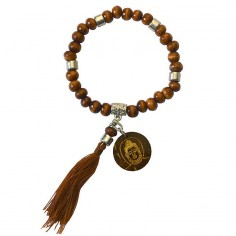 Armband Tikra Buddha braun