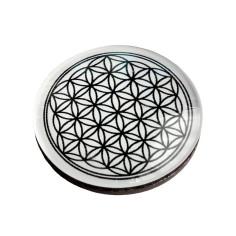 Magnet Button Lebensblume