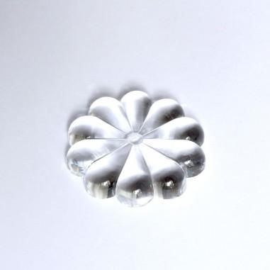 Kugelhalter Kristallglas Blume