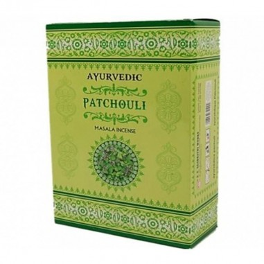 Patchouli Ayurvedische Räucherstäbchen Masala premium