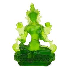 Grüne Tara Glas grün