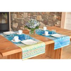 Tischläufer Blue Dream - Spirit of Om
