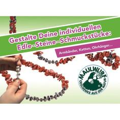 Schmuck-Kreativset Relax Kids® - Roter Jaspis & Hämatit