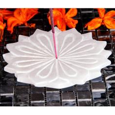 Stäbchenhalter White Lotus Alabaster