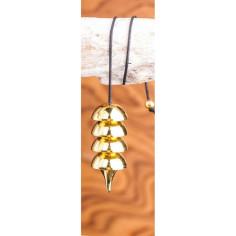Osiris Pendel vergoldet