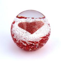 Traumkugel rotes Herz