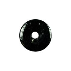 Schwarzer Turmalin 30mm Donut