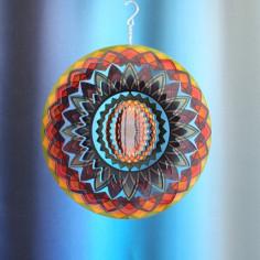Spirale Mandala Regenbogen