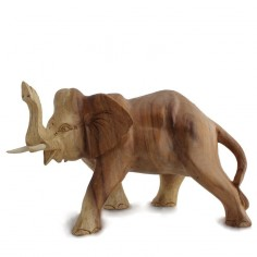 Elefant 20cm Soar-Holz