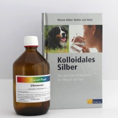 Kolloidales Silberwasser 500 ml, 50 ppm