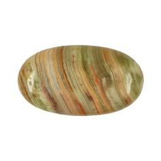 Massage Linsenstein Calcit Aragonit (Onyx Marmor)